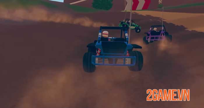 Rec Room ra mắt tựa game đua xe đa nền tảng nhiều người chơi - Rec Rally 3