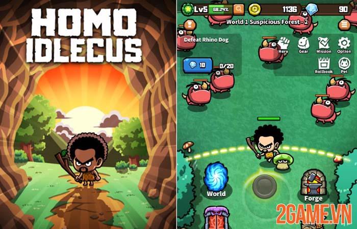 Homo Idlecus - Game phiêu lưu nhập vai người tiền sử gọn nhẹ 0