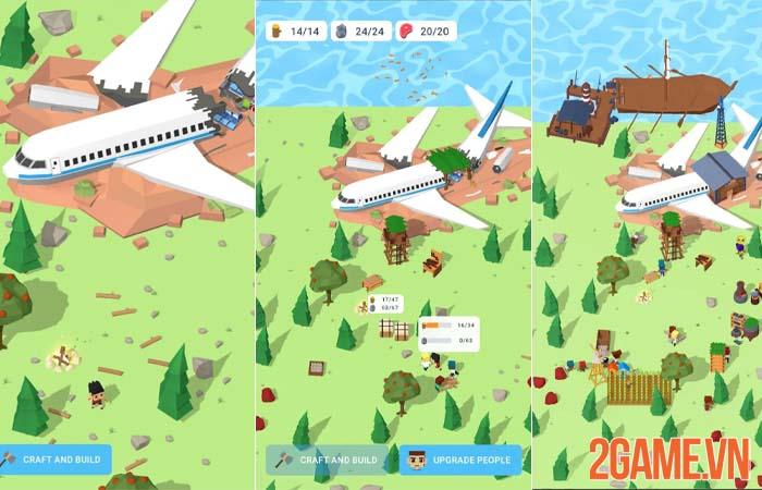 Isle Builder - Bí kíp sinh tồn trên hoang đảo dành cho game thủ mobile 0