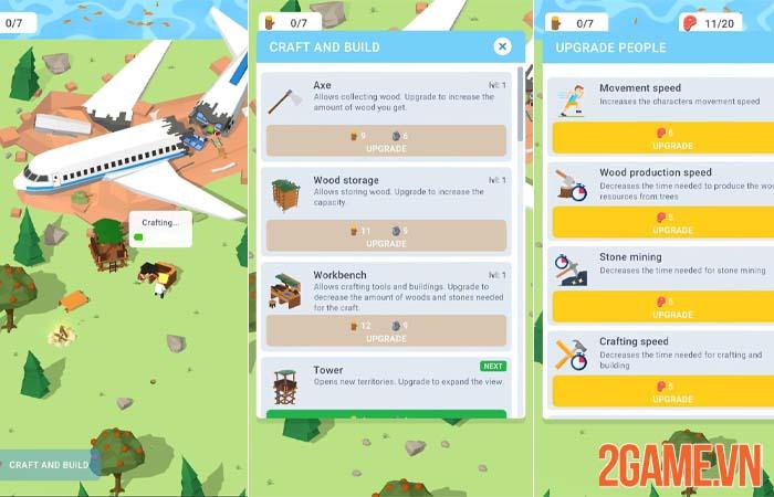 Isle Builder - Bí kíp sinh tồn trên hoang đảo dành cho game thủ mobile 1