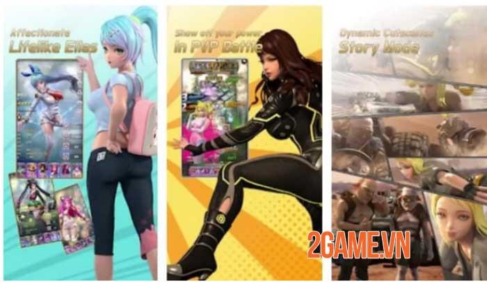 Battle Ella - Sự kết hợp giữa game nhập vai giải đố và sim hẹn hò 1
