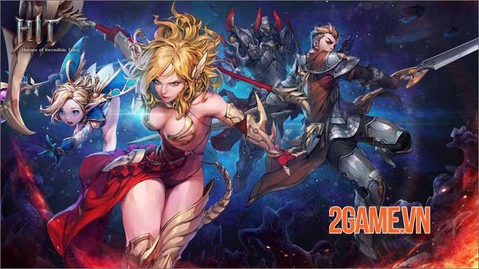 HIT2 - Game MMORPG hack và slash có hơn 100 cấp độ độc đáo 1