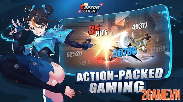 Captor Clash - Trải nghiệm combo đã tay dành cho game thủ mobile 0