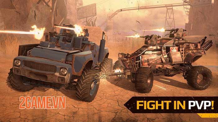 Crossout Mobile - Phiên bản di động của tựa game chiến đấu bằng xe nổi tiếng 1