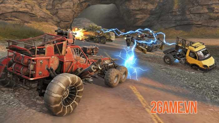 Crossout Mobile - Phiên bản di động của tựa game chiến đấu bằng xe nổi tiếng 2