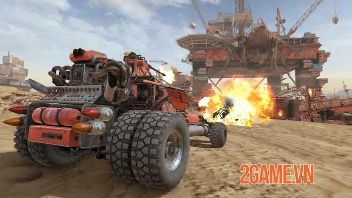 Crossout Mobile - Phiên bản di động của tựa game chiến đấu bằng xe nổi tiếng 4