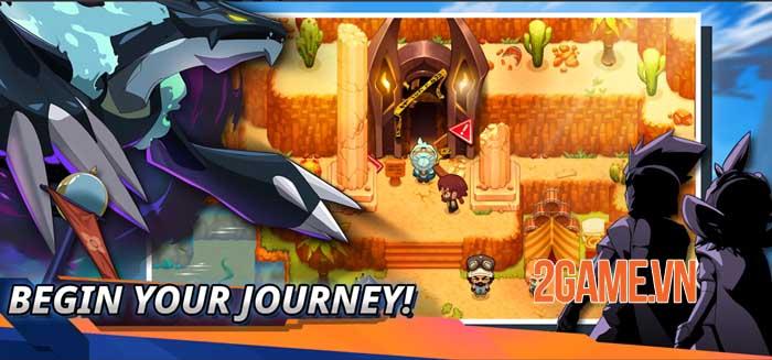 Nexomon: Extinction - Tựa game bắt quái vật có thể thay thế cho game Pokemon cũ 2
