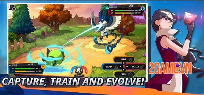 Nexomon: Extinction - Tựa game bắt quái vật có thể thay thế cho game Pokemon cũ 4