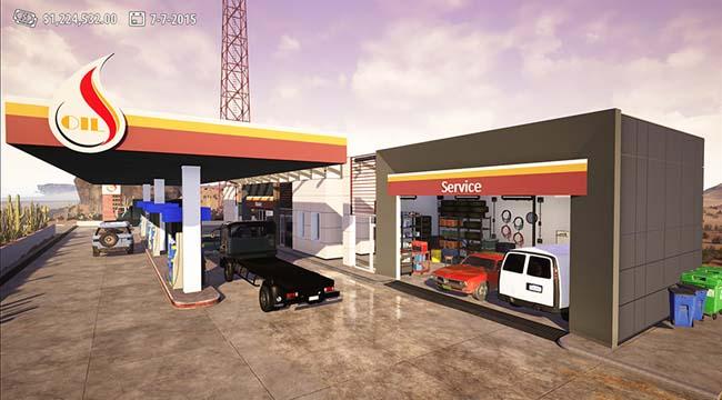 Gas Station Simulator – Làm nhân viên đổ xăng dễ hay khó?