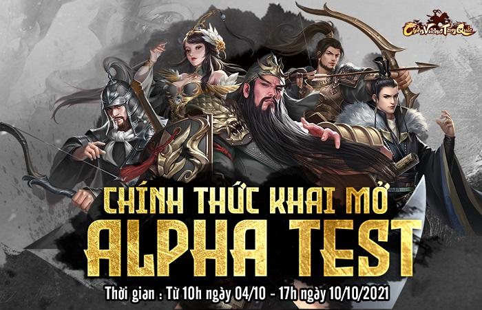 Game SLG Chiến Vương Tam Quốc mở cửa Alpha Test đón game thủ Việt hôm nay 0