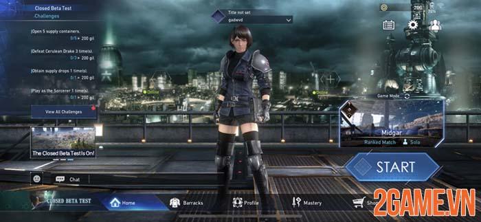 Fantasy VII: The First Soldier - Bom tấn của Square Enix đã được kích nổ 1