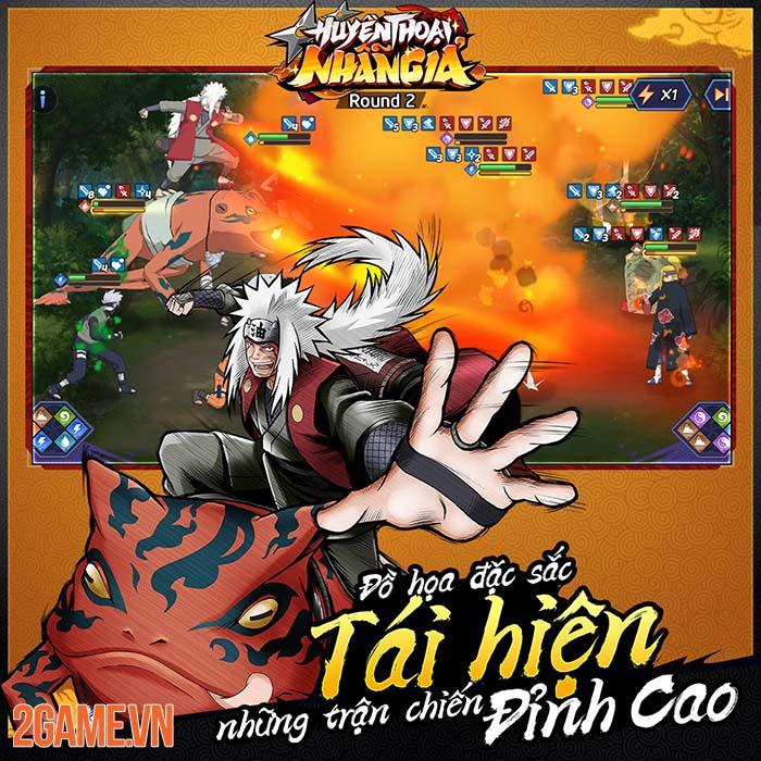 Huyền Thoại Nhẫn Giả - Game đấu tướng nhẹ nhàng với đề tài Naruto 4