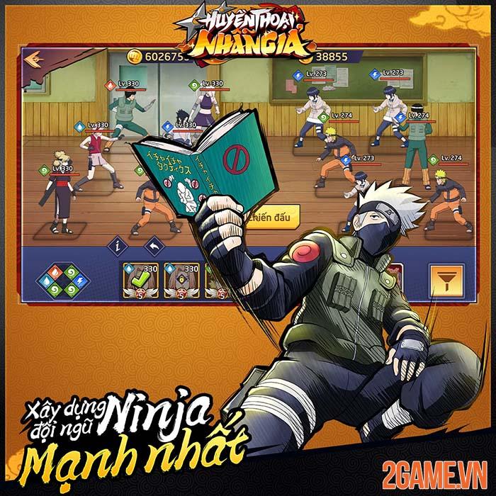 Huyền Thoại Nhẫn Giả - Game đấu tướng nhẹ nhàng với đề tài Naruto 0