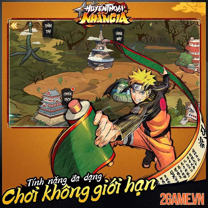 Huyền Thoại Nhẫn Giả - Game đấu tướng nhẹ nhàng với đề tài Naruto 2