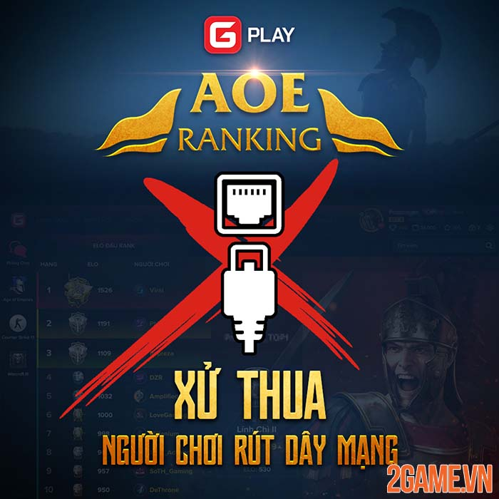 Sau nhiều ngày chờ đợi GPlay chính thức ra mắt phiên bản AoE Ranking 2