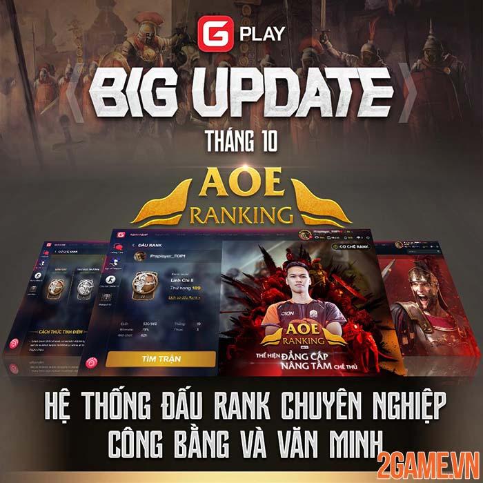 Sau nhiều ngày chờ đợi GPlay chính thức ra mắt phiên bản AoE Ranking 0