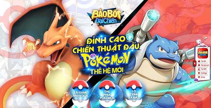 Bảo Bối Đại Chiến - Game chiến thuật Pokémon thế hệ mới lộ diện fanpage 0