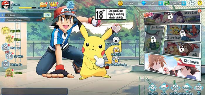 Bảo Bối Đại Chiến - Game chiến thuật Pokémon thế hệ mới lộ diện fanpage 1