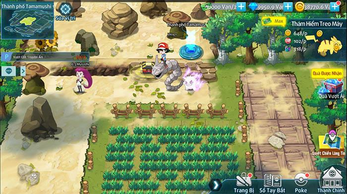 Bảo Bối Đại Chiến - Game chiến thuật Pokémon thế hệ mới lộ diện fanpage 2
