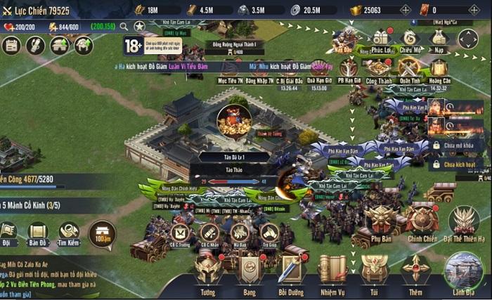 Chiến Vương Tam Quốc là sân chơi của Bang vs Bang, Liên Minh vs Liên Minh 1
