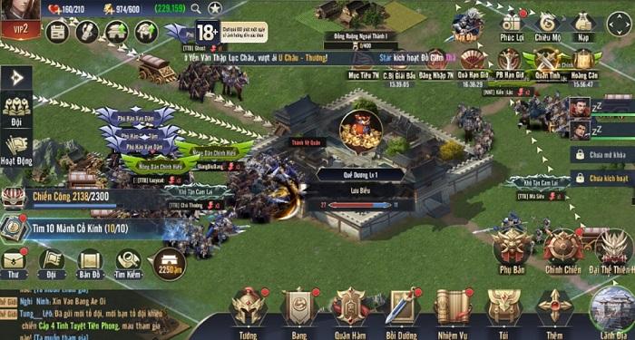 Chiến Vương Tam Quốc là sân chơi của Bang vs Bang, Liên Minh vs Liên Minh 3
