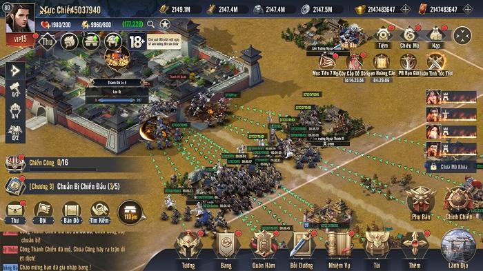 Chiến Vương Tam Quốc là sân chơi của Bang vs Bang, Liên Minh vs Liên Minh 5