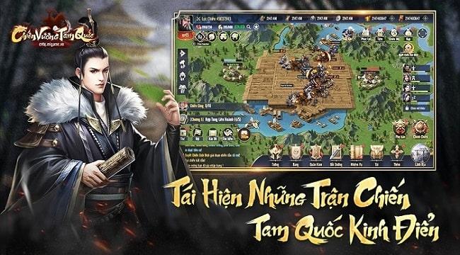 Chiến Vương Tam Quốc là sân chơi của Bang vs Bang, Liên Minh vs Liên Minh