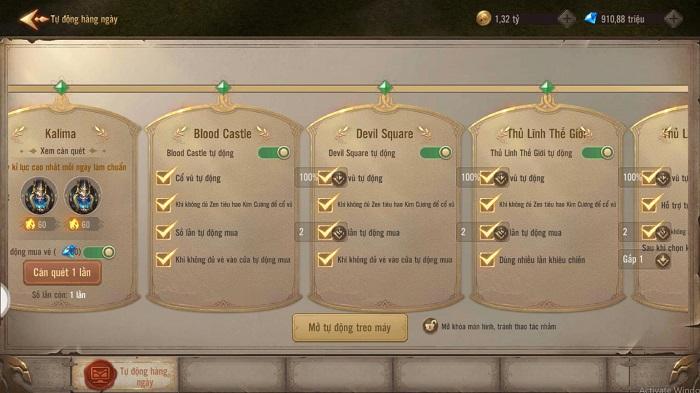 MU: Vinh Dự - Funtap lần đầu xuất hiện công cụ GM hỗ trợ chơi game cực dễ 4