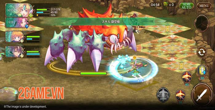 Echoes of Mana - Game mobile ARPG lấy cảm hứng từ series phim ăn khách 3