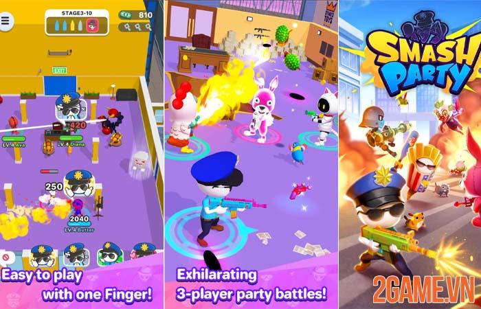 Smash Party - Trải nghiệm giải trí nhẹ nhàng với sắc màu dễ thương 0