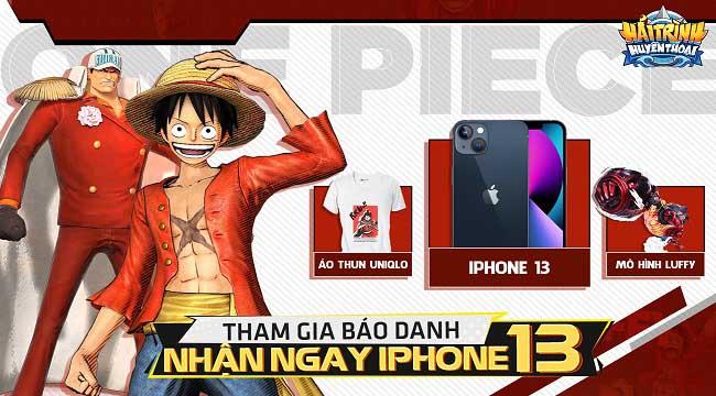 Hải Trình Huyền Thoại: Người chơi chẳng cần đua top cầu kỳ vẫn có cơ hội kiếm iPhone 13 cực dễ