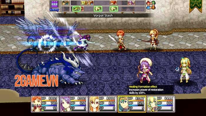 Infinite Links - Game JRPG 2D phiêu lưu trong thế giới phù thủy 3