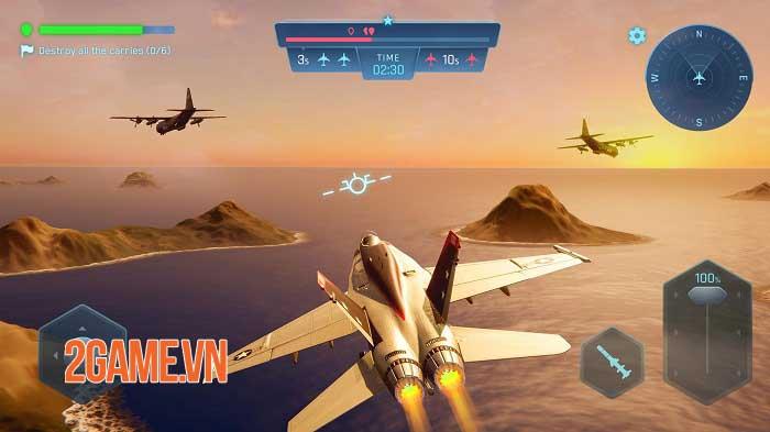 Sky Warriors - Game hành động không chiến ly kỳ và hấp dẫn 0