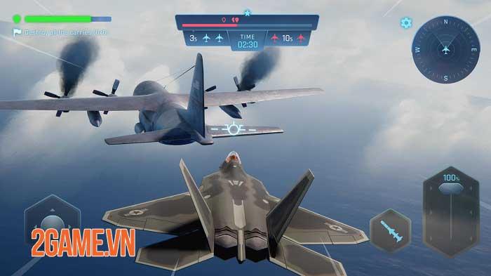 Sky Warriors - Game hành động không chiến ly kỳ và hấp dẫn 1