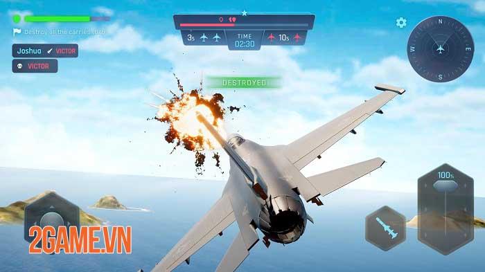 Sky Warriors - Game hành động không chiến ly kỳ và hấp dẫn 2