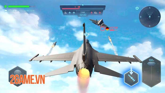 Sky Warriors - Game hành động không chiến ly kỳ và hấp dẫn 3