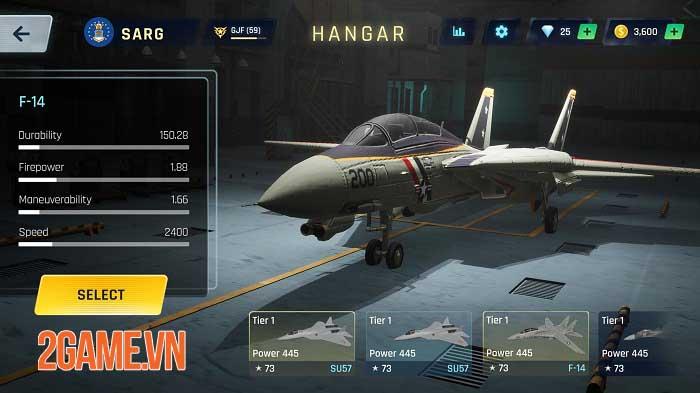 Sky Warriors - Game hành động không chiến ly kỳ và hấp dẫn 4
