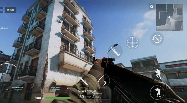 Modern Gun: Shooting War Games – Trải nghiệm súng đạn trên mobile
