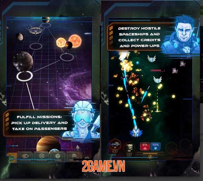 Galaxy Splitter - Game máy bay chiến đấu shoot 'em up đồ họa 3D hoành tráng 0