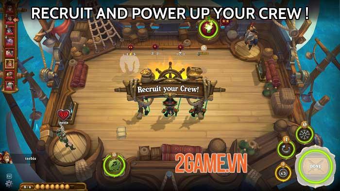 Runeverse: Sea Brawls - Game chiến thuật bối cảnh cướp biển giả tưởng tuyệt đẹp 1