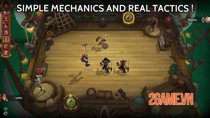 Runeverse: Sea Brawls - Game chiến thuật bối cảnh cướp biển giả tưởng tuyệt đẹp 2