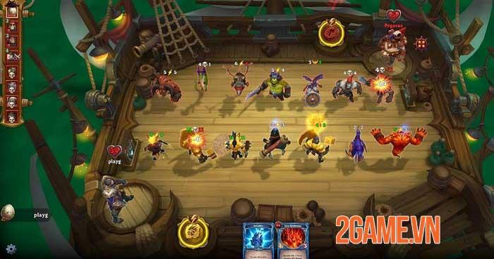 Runeverse: Sea Brawls - Game chiến thuật bối cảnh cướp biển giả tưởng tuyệt đẹp 3