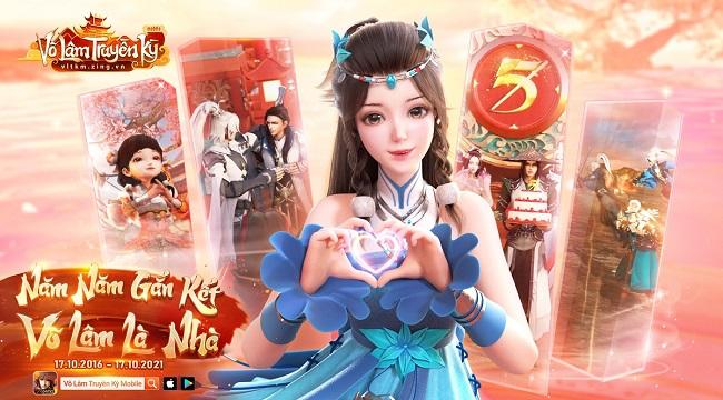 Võ Lâm Truyền Kỳ Mobile tung TVC mừng sinh nhật 5 tuổi