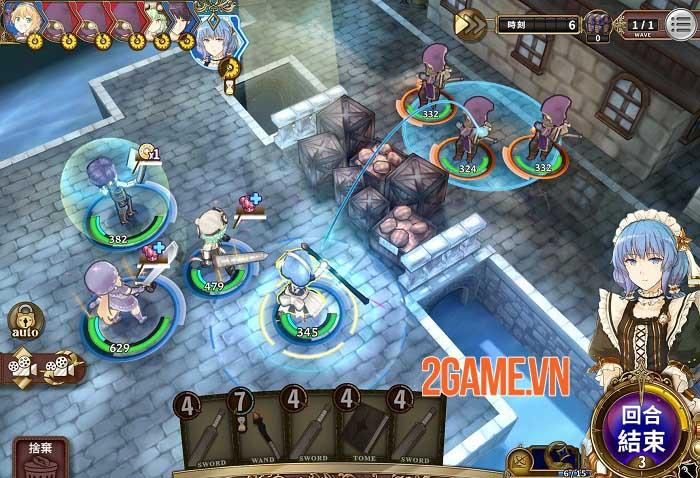 Zold: Out - Game SRPG đánh theo lượt đồ họa anime bắt mắt 2