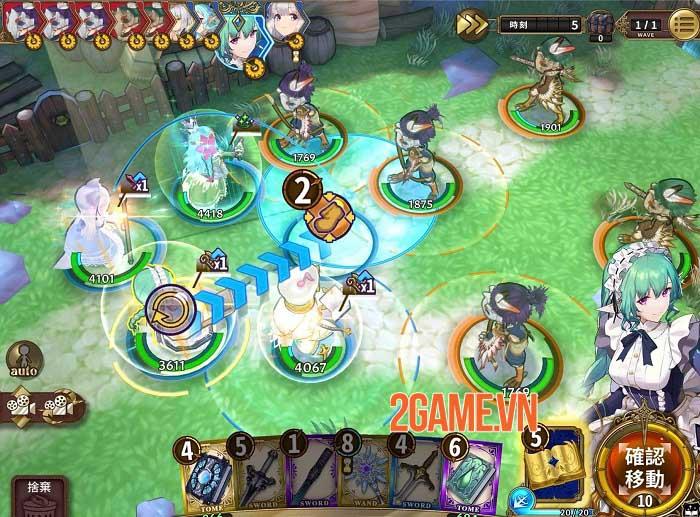Zold: Out - Game SRPG đánh theo lượt đồ họa anime bắt mắt 3