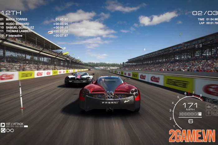 GRID Autosport - Trải nghiệm tốc độ cùng tiếng gầm động cơ hoành tráng 0