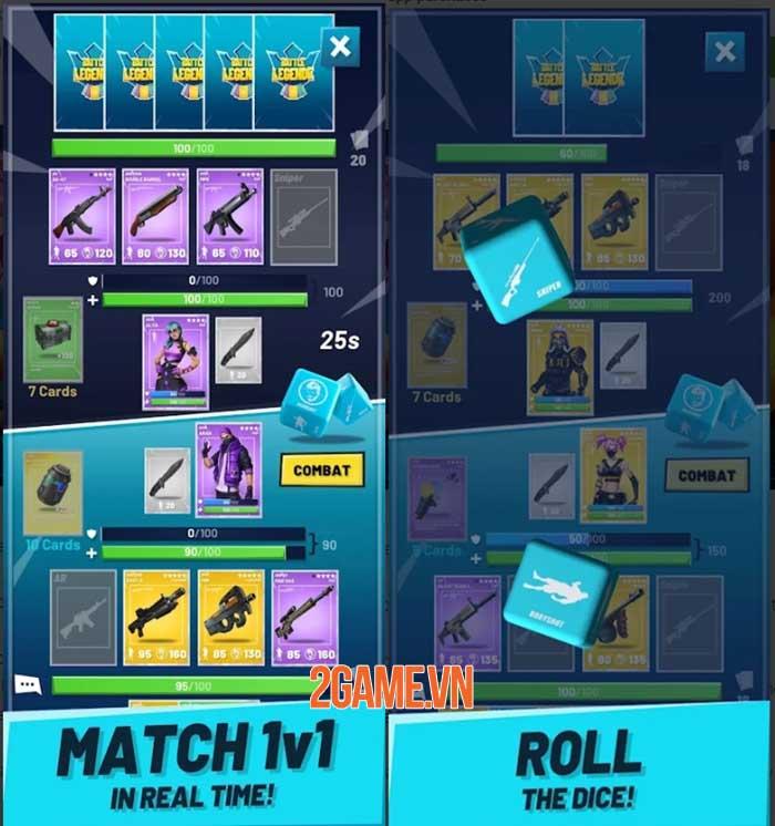 Battle Legende - Game chiến thuật thẻ bài dựa trên vũ trụ FPS 2