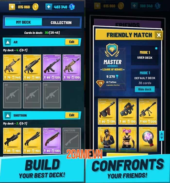 Battle Legende - Game chiến thuật thẻ bài dựa trên vũ trụ FPS 4