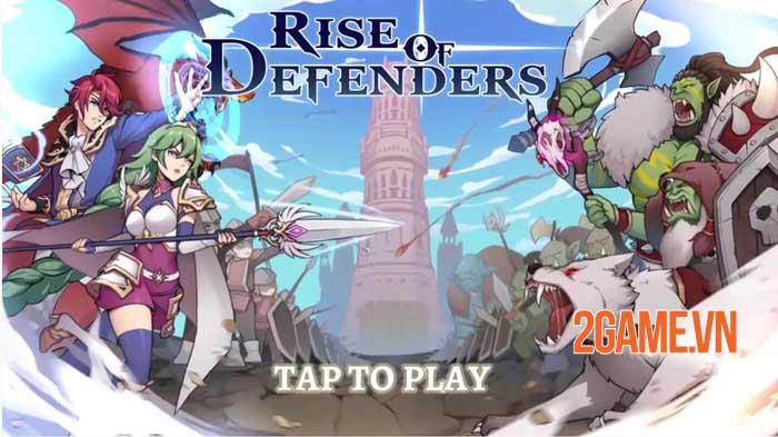 Rise of Warrior Defender - Game chiến thuật thủ tháp với dàn nhân vật phong phú 0