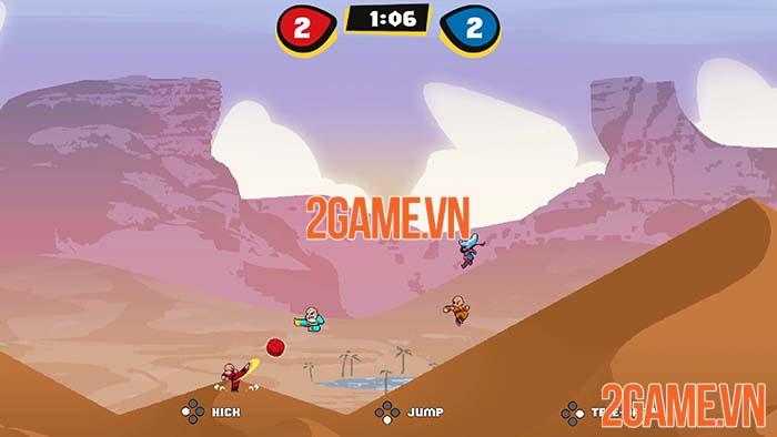 KungFu Kickball - Đội Bóng Thiếu Lâm được tặng miễn phí trên Steam 2